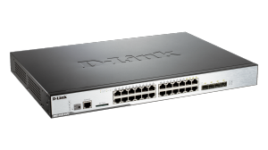 20 Port PoE Gigabit Unified Wireless Switch with 4 Gigabit Combo BASE-T/SFP Ports