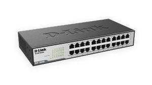 24-Port 10/100 Unmanaged Rackmount Switch