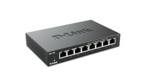 8-Port 10/100 Unmanaged Metal Desktop Switch