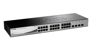 28 Port Gigabit Web Smart Switch including 4 Gigabit SFP ports
