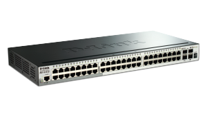 52-Port Gigabit Stackable SmartPro  Switch including 2 SFP and 2 10GbE SFP+ ports
