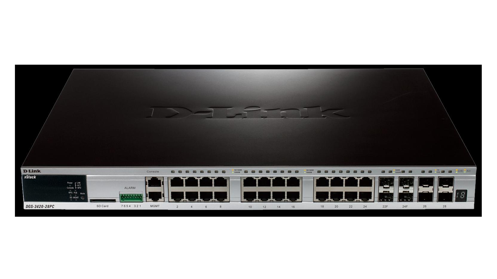 DGS-3420-28PC-Front1664x936