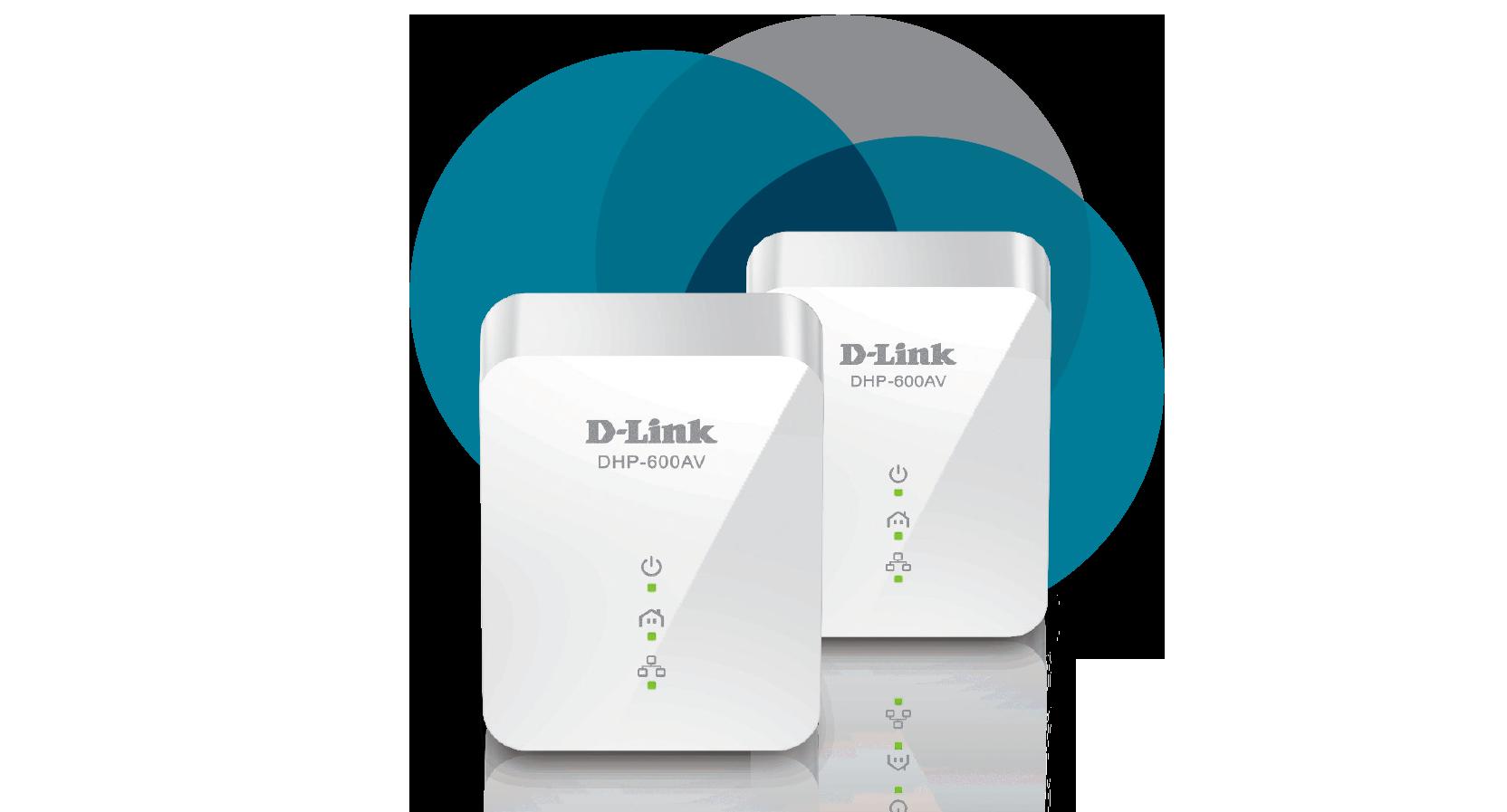 PowerLine AV1000 Gigabit Starter Kit (DHP-601AV) | D-Link