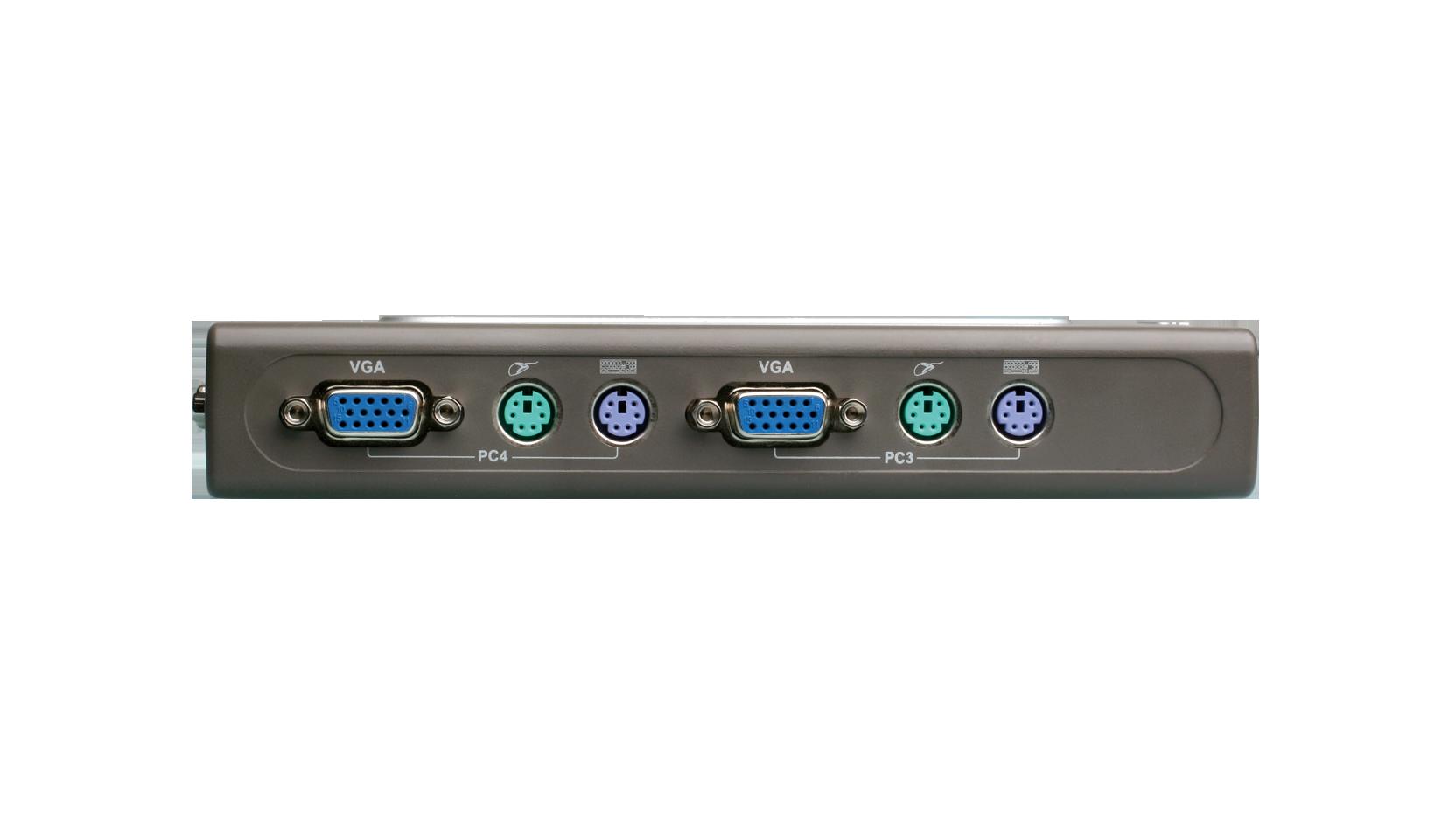 4-Port PS/2 KVM Switch (DKVM-4K)