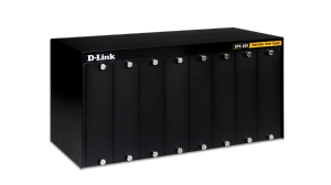 8 Slot Rack-mount Chassis for select D-Link DPS Redundant Power Supplies