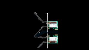 Wireless N 300 Dual Band PCI Express Desktop Adapter