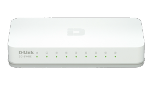 dlinkgo 8-Port 10/100 Desktop Switch