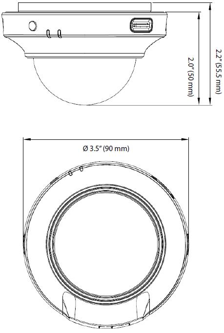 DCS-6004L Dimensions