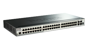 52-Port Gigabit Stackable SmartPro  Switch including 4 10GbE SFP+  ports