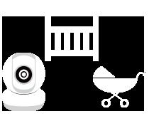 HD Wi-Fi Baby Camera DCS-855L