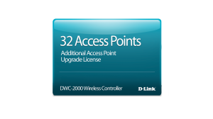 DWC-2000 32 Access Point Upgrade License
