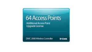 DWC-2000 64 Access Point Upgrade License