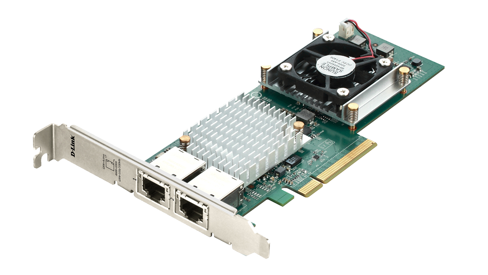 Dual Port 10gbase T Rj45 Pci Express Adapter D Link