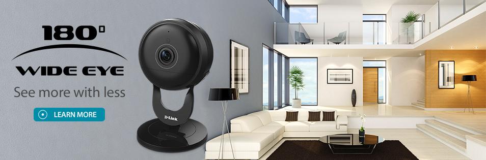 Full HD Ultra-Wide View Wi-Fi Camera-DCS-2630L