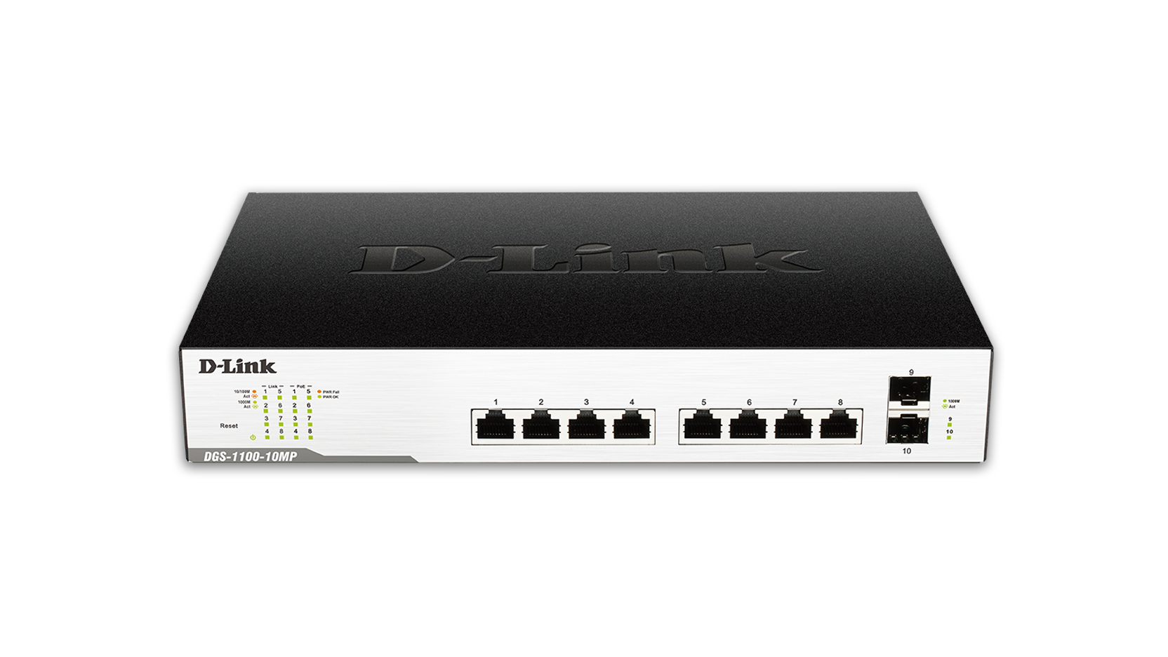 D Link Smart Managed 10 Port Gigabit Poe Switch Dgs 1100