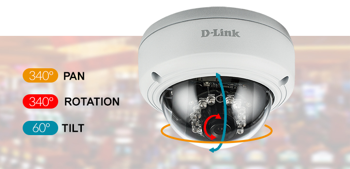 D-Link DCS-4603 Vigilance Dome Network Camera