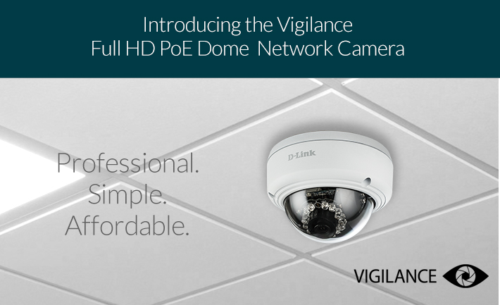 introducing the vigilance full hd PoE Dome Network Camera