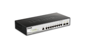 8-Port Metro Ethernet Gigabit Switch with 2 Gigabit SFP ports