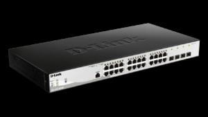 24-Port Metro Ethernet Gigabit PoE Switch with 4 Gigabit SFP ports