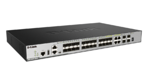 28-Port Layer 3 Stackable Managed Gigabit Switch including 4 10GbE Ports
