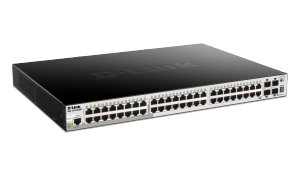 48-Port Gigabit Stackable Smart Managed PoE Switch with 4 10GbE SFP+ ports, 370W PoE Budget