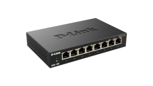 8-Port Gigabit Unmanaged Metal Desktop Switch