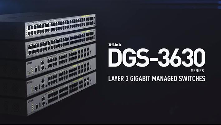 DGS-3630 Video