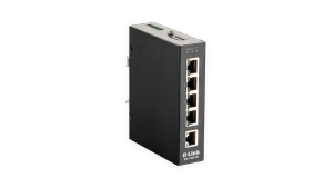 5-Port Gigabit Unmanaged Industrial Switch – Wide Temp