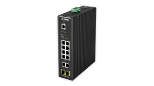 12-Port Gigabit Smart Managed Industrial PoE Switch – 240W PoE Budget