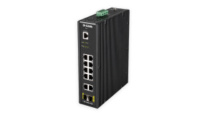 12-Port Gigabit Smart Managed Industrial Switch – Wide Temp
