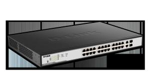 DGS-1100 Series Smart Managed 26-Port Gigabit PoE Switch